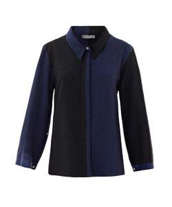 JOE RICHARDS | Petulia Bi-Colour Crepe Shirt