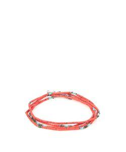 M COHEN | Coral Jade And Sterling-Silver Bracelet