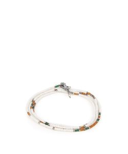M COHEN | Antique-Bead And Silver Bracelet