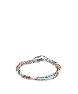M COHEN | Jade Glass And Silver Necklace