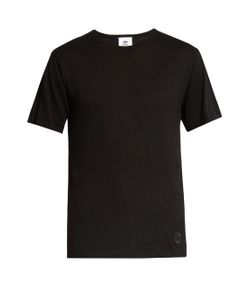 ADIDAS ORIGINALS BY WINGS + HORNS | Crew-Neck Cotton-Knit T-Shirt