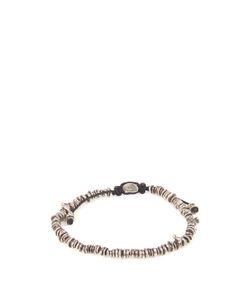 M COHEN | Silver Nugget-Bead Bracelet