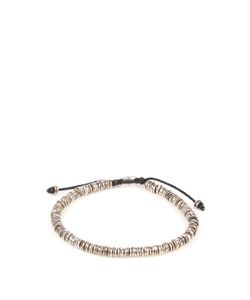 M COHEN | Silver Disc-Bead Bracelet