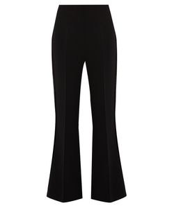 Roland Mouret | Connor Stretch-Cady Kick-Flare Trousers