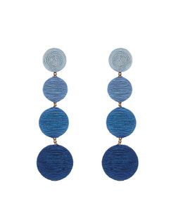 Rebecca De Ravenel | Les Bonbons Blueberry Earrings