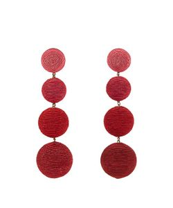 Rebecca De Ravenel | Les Bonbons Raspberry Earrings