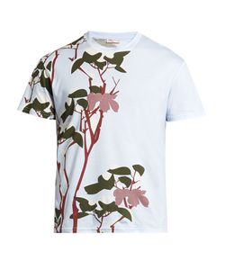 ORLEY | Snow Flower-Print Cotton T-Shirt