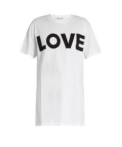 KATHARINE HAMNETT AT YMC | Love Organic-Cotton T-Shirt