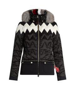 TONI SAILER | Maria Fur-Trimmed Technical Ski Jacket