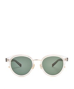 DIOR HOMME SUNGLASSES | Blacktie 2.0sk Round-Frame Sunglasses