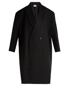 VETEMENTS | X Brioni Oversized Double-Breasted Wool Coat