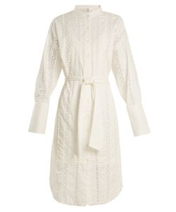 Zimmermann | Rife Gothic Lace-Insert Shirtdress