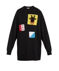 J.W. Anderson | Oversized Patch-Appliqué Cotton Sweatshirt