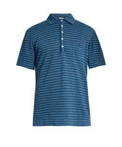 Massimo Alba | Wembley Striped Linen Polo Shirt