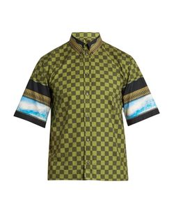 Givenchy | Box-Cut Short-Sleeved Cotton Shirt