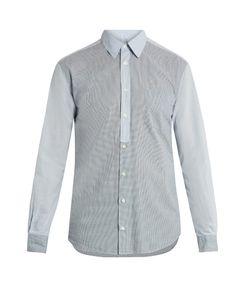 HELBERS | Vichy-Checked Cotton Shirt