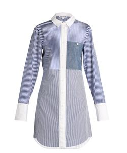 Elizabeth And James | Jay Striped Cotton-Poplin Shirtdress