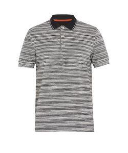 Missoni | Striped Cotton-Piqué Polo Shirt