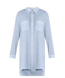 Heidi Klein | St Barth Step-Hem Cotton Shirtdress