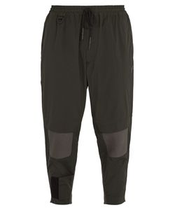 Y-3 | Contrast-Panel Nylon Track Pants