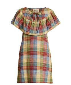 ACE & JIG | Clifton Checked Cotton-Blend Dress