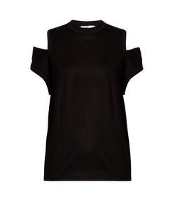Toga | Cut-Out Shoulder Cotton-Jersey T-Shirt