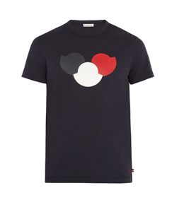 Moncler | Logo-Print Cotton T-Shirt