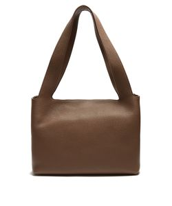 The Row | Duplex Small Grained Shoulder Bag