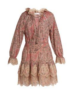 Zimmermann   Tulsi Paisley-Print Cotton And Silk-Blend Dress