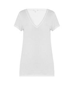 Skin   V-Neck Cotton Pyjama Top