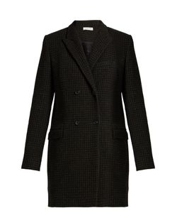Isabel Marant Étoile | Iken Double-Breasted Hounds-Tooth Coat