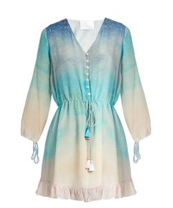 Athena Procopiou | Love At Dawn Silk Beach Dress