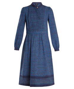 A.P.C. | Romy Printed Cotton-Blend Dress
