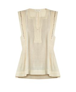 Isabel Marant Étoile | Adonis Embellished Cotton-Blend Top