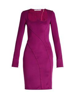 Givenchy | Sweetheart-Neckline Stretch Mini Dress