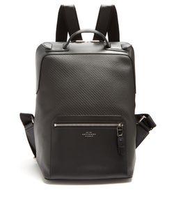 Smythson | Greenwich Woven Backpack