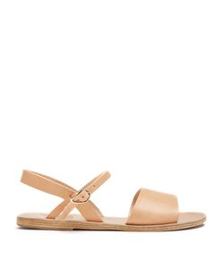 ANCIENT GREEK SANDALS | Kaliroi Vachetta Leather Sandals