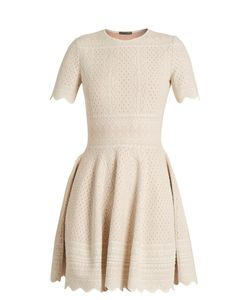 Alexander McQueen | Lace-Jacquard Jersey Dress