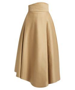 A.W.A.K.E. | Asymmetric Double-Faced Cotton Skirt
