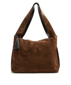 The Row | Duplex Suede Shoulder Bag