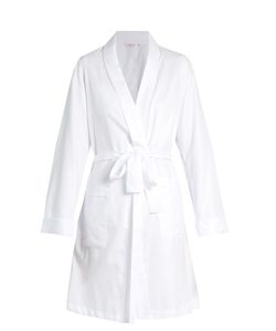 Derek Rose | Kate Cotton-Jacquard Robe