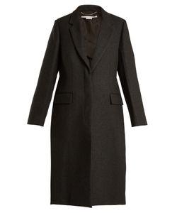 Stella Mccartney   Oversized Single-Breasted Wool Coat