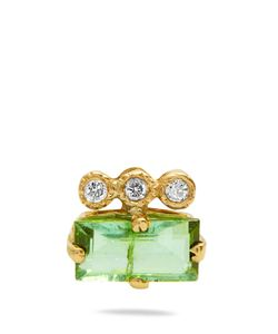 JACQUIE AICHE | Diamond Tourmaline Earring