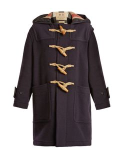 Burberry | Greenwich Hooded Wool-Blend Coat