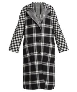 Burberry | Checked Reversible Wool And Cashmere-Blend Coat
