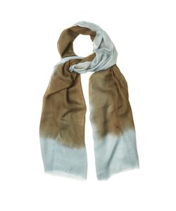 Denis Colomb   Mustang Peacock Cashmere Scarf