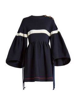 Sonia Rykiel | Oversized Bell-Sleeved Dress