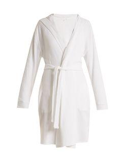 Skin | Waffle-Cotton Jersey Robe