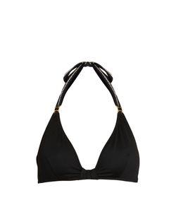 BIONDI | Caviar Halterneck Bikini Top