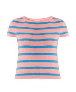 BARRIE | Striped Cashmere Top